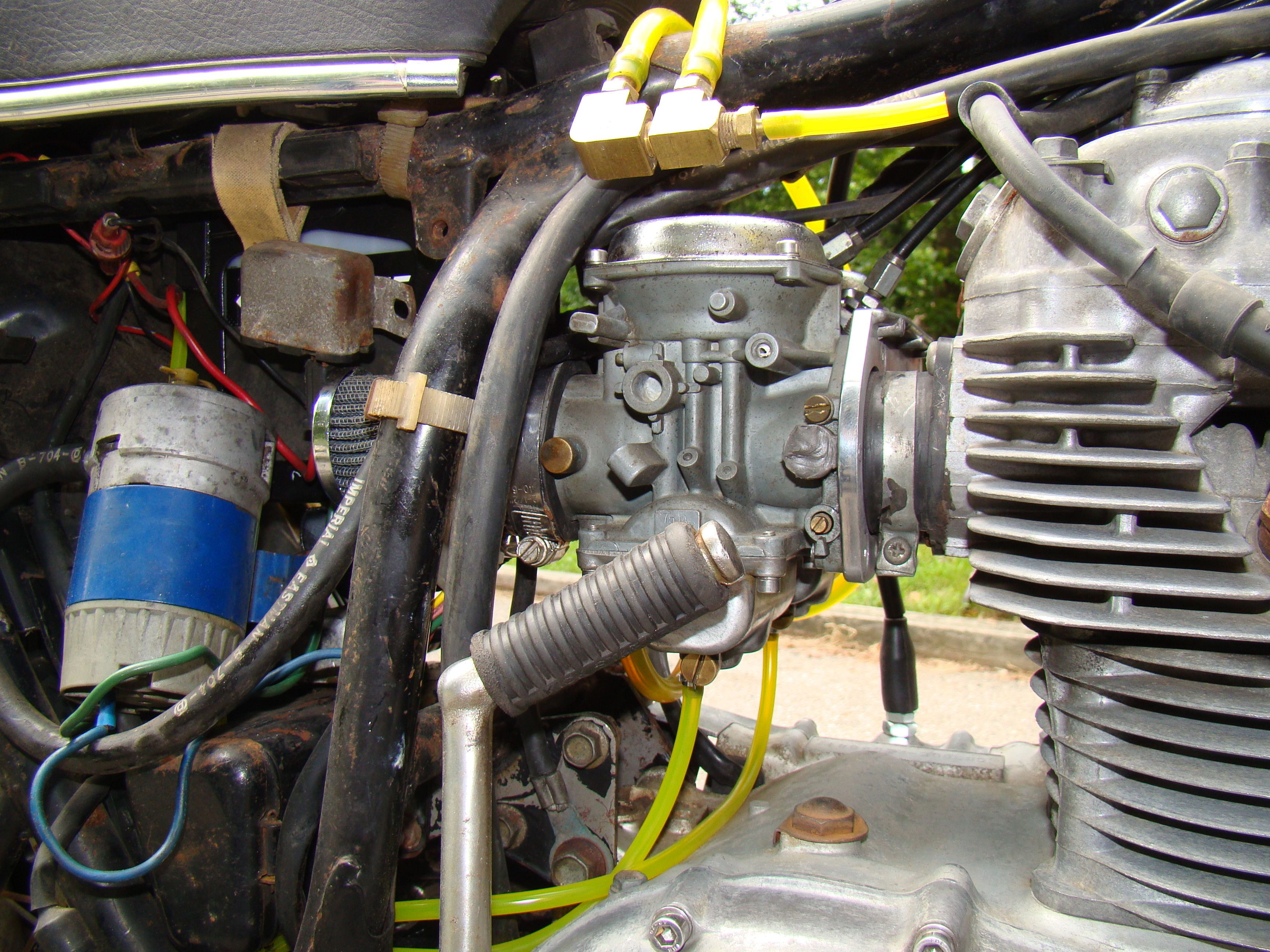 how to get fuel to carb yamaha ef1000is