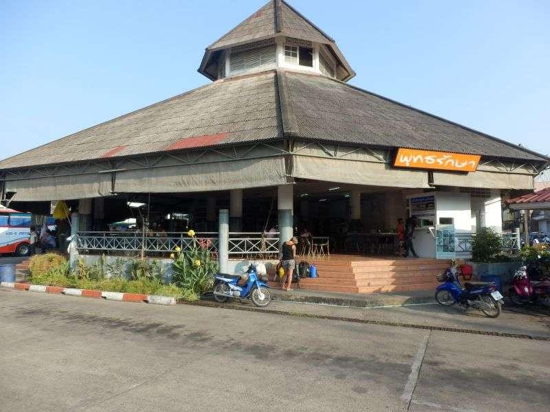 Busbahnhof in Ranong