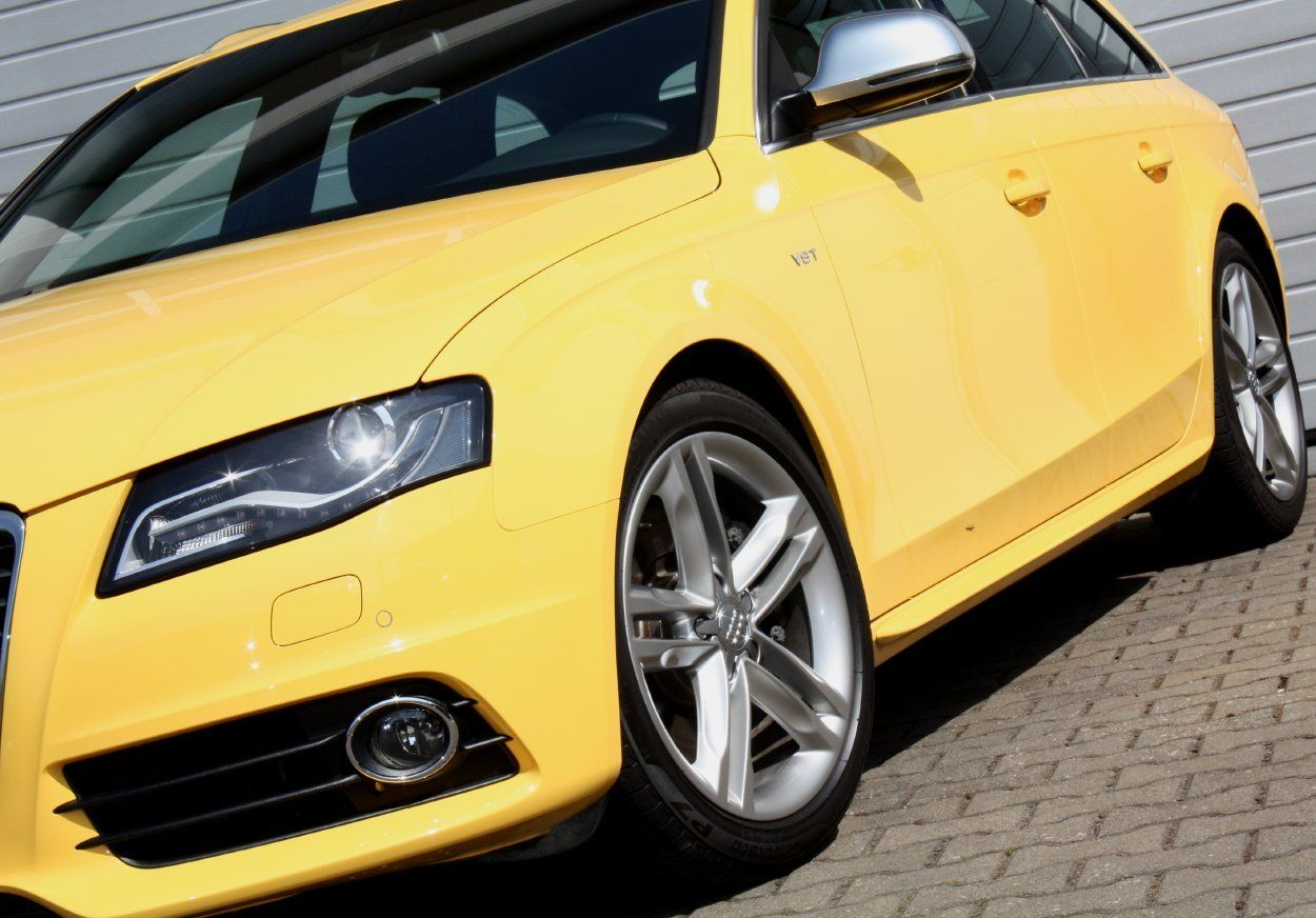 Audi S4 Avant Imola Yellow Only Cars And Cars