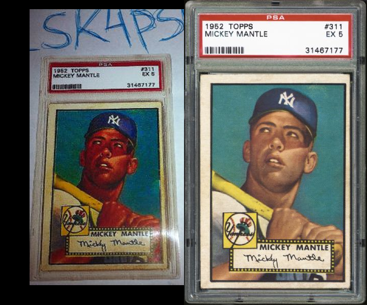 Fake 1952 Topps Net54baseballcom Forums